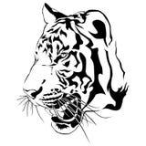Tygrysa gapienia ofiara zwycięzca ilustracja wektor