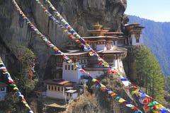 Tygrysa gniazdeczko, Taktsang monaster, Bhutan Obraz Stock