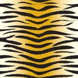 Tygrysi futerkowy bezszwowy wzór royalty ilustracja