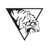 Tygrysi logo Obrazy Stock