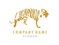 Tygrysi logo Fotografia Stock
