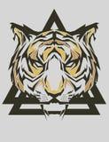 Tygrysi Popart Zdjęcie Royalty Free
