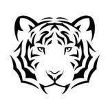 Tygrysi tatuaż Zdjęcie Royalty Free