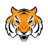 Tygrysia ikona Wektorowa ilustracja dla loga projekta, koszulka Zdjęcia Royalty Free