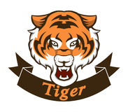 Tygrysia maskotka Ilustracja Wektor