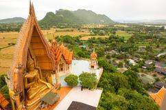 Tygrysia pagodowa świątynia, Kanchanaburi Tajlandia obraz royalty free