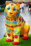 Tygrysia rzeźba obraz royalty free