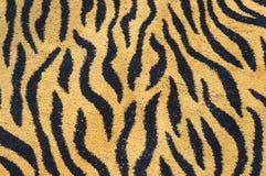 Tygrysich lampasów podłoga ręcznikowa mata zdjęcia royalty free