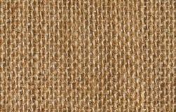 Tygtexturbakgrund av sömlös linne som plundrar torkduken Royaltyfri Bild