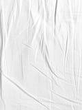 Tygtexturvit för bakgrund Royaltyfria Bilder
