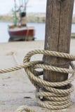 Tying rope Stock Photos