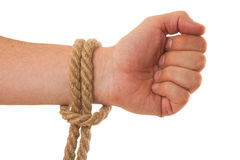 Tying ropes Stock Photos