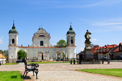 Tykocin - town square Royalty Free Stock Photography