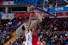 Tyler Honeycutt (2) attack Stock Photos