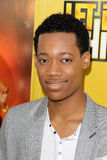 Tyler James Williams arriving at the Premiere Of Disney Channel's   Stock Photography