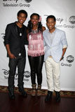 Tyler James Williams, Coco Jones, Trevor Jackson Stock Images
