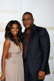 Tyler Perry, Gabrielle Union Royalty Free Stock Photo