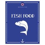 Tylko owoce morza menu Zdjęcia Royalty Free