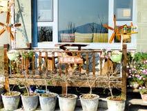 Tylko wioski mola austeria zdjęcie stock