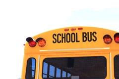 tylna autobusem do szkoły Zdjęcia Stock