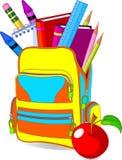 tylna szkoła ilustracja wektor