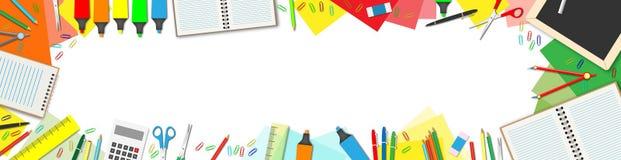 tylna szkoły ilustracji