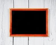 tylna szkoły Ramowa i drewniana półka Obraz Royalty Free
