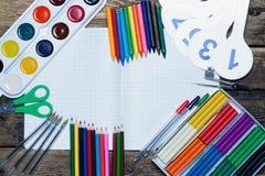 tylna szkoły Tło szkoła ximpx różnorodnego Zdjęcia Stock