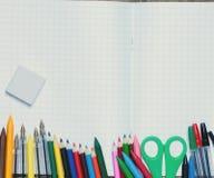tylna szkoły Tło szkoła ximpx różnorodnego Fotografia Stock