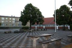 tylna szkoły Zdjęcia Stock