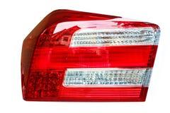 tylne światła czerwonego samochodu Obraz Stock
