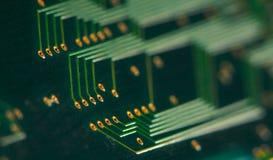 tylne deskowe electronics obwód Fotografia Stock