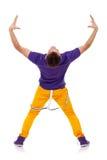tylnego tancerza nowożytny obrazka styl Fotografia Stock