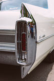 Tylni hamulcowi światła pełnych rozmiarów luksusowy samochodowy Cadillac Sedan De Ville Obrazy Royalty Free