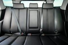 Tylni miejsca pasażera w nowożytnym samochodzie Zdjęcie Stock