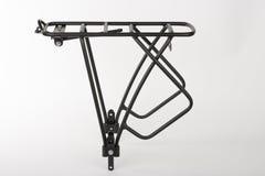 Tylni roweru stojak robić od aluminium kwadrata profilu, pracowniana fotografia, Zdjęcia Royalty Free