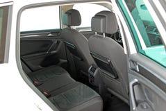Tylni samochodowy siedzenie obraz royalty free