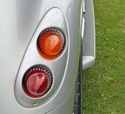 Tylni Samochodu Światła Szczegół Obrazy Stock