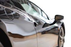 Tylni widok atrakcyjny elegancki nowożytny luksusowy automatyczny silnik ca Zdjęcia Royalty Free