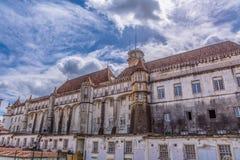 Tylni widok budynek Royal Palace fotografia stock