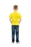 Tylni widok chłopiec Zdjęcia Stock