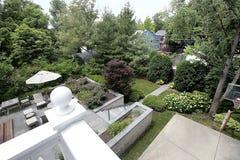 tylny balkonowy widok Obraz Royalty Free