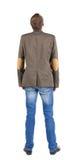 tylny biznesowy kurtki mężczyzna kostiumu widok Fotografia Stock