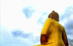 tylny Buddha Fotografia Royalty Free