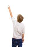 tylny chłopiec obszycia target2773_0_ zdjęcia royalty free