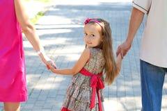 tylny dziecko patrzał Fotografia Stock