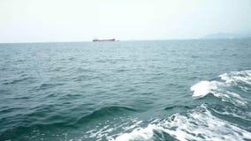 Tylny i boczny widok od ferryboat zdjęcie wideo