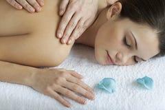 tylny masaż fotografia royalty free