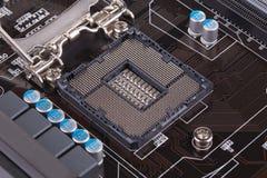 Tylny widok DDR pamięci moduł Zdjęcia Royalty Free