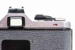 Tylny widok stara i zakurzona kamera zdjęcia stock